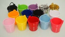 Small Mini Micro Beach Sand Plastic Pails Buckets Party Favors Gifts Candy Box