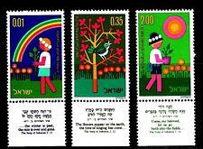 ISRAEL 1975 5636/8 DIA DEL ARBOL 3v
