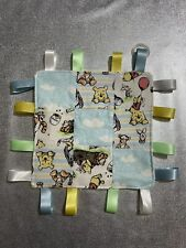 Winnie The Pooh Patchwork Homemade Small Size Comforter Taggie Inc Dummy Adapter