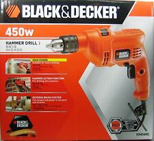 Black and Decker Electric Hammer Drill 450 Watts KR454RE FOR OVERSEAS 220 Volts