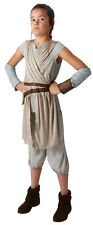 Girls Rey Deluxe Star Wars The Force Awakens Kids Licensed Fancy Dress Costume 11 - 12 Years 620326