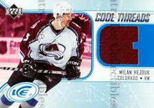 2005-06 UD Ice Cool Threads #CTMH Milan Hejduk