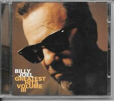 CD COMPIL 17 TITRES--BILLY JOEL--GREATEST HITS VOLUME III