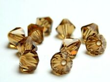 Preciosa Perlen col. topaz Rondell Beads 7 mm *** high quality ***
