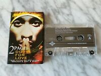 2Pac Do For Love CASSETTE Tape Single 1997 Jive/Interscope Brenda's Got A Baby