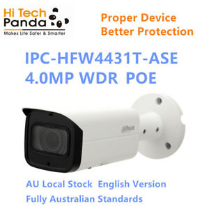 Dahua IPC-HFW4431T-ASE  IP 4.0 MP Camera WDR POE CCTV system Au Local
