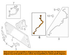 TOYOTA OEM Air Conditioner-Discharge Hose SU003A0002