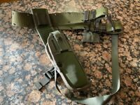 US Military Issue M12 Bianchi Handgun Pistol Holster with Mag Pouch Belt Set