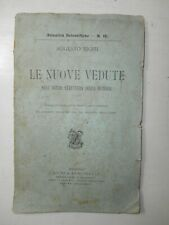 RARE Old Book Augusto Righi 1908 physical structure RAW Edition
