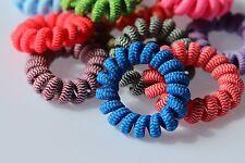 Haargummi Spiralgummi Haarschmuck Haarband Telefonkabel-Haargummi
