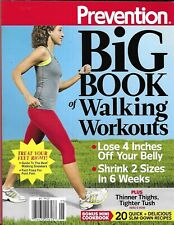 Prevention Magazine Big Book of Walking Workouts Weight Loss Recipes Sneakers