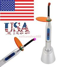 Dental 10W Wireless Cordless LED Curing Light Lamp 2000mw USA for lab or clinic