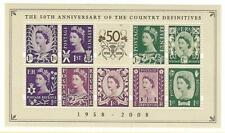 GB - 2003 -  MSN153 -''50th Anniversary of Country Definitives''