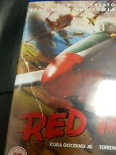 Red Tails (Blu-ray, 2012) Tear in insert as in photo