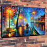"""""""Melody Of The Night"""" Printed Canvas Picture A1-30""""x20"""" 30mm Deep Leonid Afremov"""
