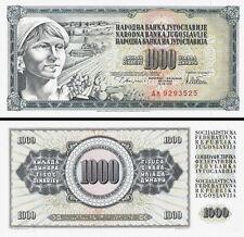 YUGOSLAVIA - 1000 Dinara 1978 FDS UNC