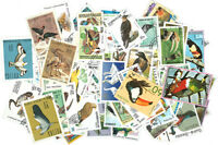 BIRDS – 250 DIFFERENT STAMPS [2507] + FREE GIFT