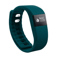 GEMS Activity Tracker Compatible with Android and iOS Dark Teal