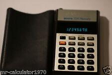 VINTAGE 1979 Stivali 224 memoria (noto come Casio calcolatrice memoria B-1)