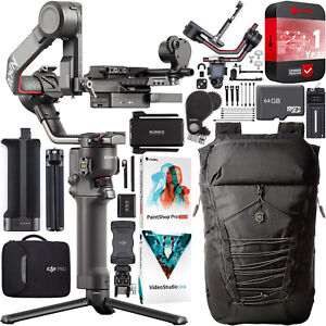 DJI RS 2 Pro Combo Gimbal 3-Axis Stabilizer for DSLR & Mirrorless Cameras Bundle