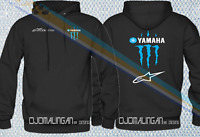 TEAM YAMAHA Factory Racing Motor MOTORCYCLE MOTORRAD HOODIE ALL SIZE