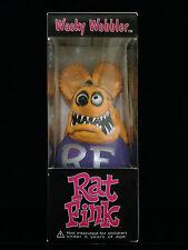 FUNKO ED ROTH RAT FINK NEON CHERRY BOMB WACKY WOBBLER BOBBLE HEAD NEW NO STICKER