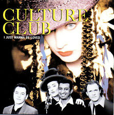 ★☆★ CD Single CULTURE CLUB I just wanna be loved 2-track CARD SLEEVE RARE  ★☆★