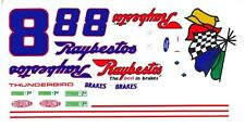 #8 Sterling Marlin Ford 1/64th - HO Scale Slot Car Decals