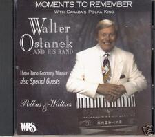 "WALTER OSTANEK  ""Moments To Remember""  NEW SEALED POLKA CD"