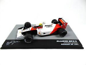 Formule 1 McLaren MP4/6 Ayrton Senna GP Allemagne 1991 - 1/43 Voiture F1 714