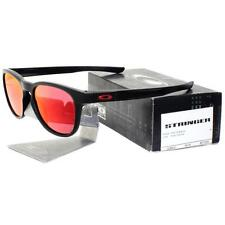 Oakley OO 9315-09 STRINGER Matte Black Frame Ruby Iridium Lens Mens Sunglasses