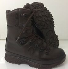 HAIX BROWN LEATHER COLD WET WEATHER BOOTS - Size: 7 Wide , British Army Issue