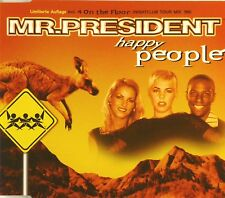 Maxi CD - Mr.President - Happy People - #A2203