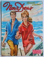 ► NOUS DEUX n°790 - 1962 - DANS LE VENT  - MACHA MERIL
