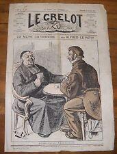 Le Grelot Journal Satirique N°146 Un Maire Orthodoxe Par Alfred Le Petit 1874