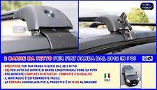 Barre tetto fiat Panda 2012 > barre portatutto kit portapacchi portabagagli per