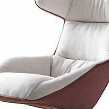 Luxury High Back Living Room French Style Leisure Chair w/ Arm Linen 4 Star Leg