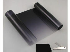 Black To Clear Sun Visor Window Screen Windshield Film Tint Strip Protect Shade