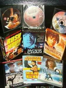 Jackie Chan 17 DVD Bundle - Project A, Rush Hour, Gorgeous, Young Master & more
