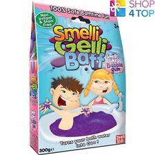 SMELLI GELLI BAFF BUBBLEGUM SMELL TURN WATER INTO GOO JELLY BATH KIDS NEW