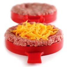 NORPRO 508 Stuffed Burger Press, Beef Turkey Cheese Veggie Maker Press Mold