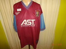 "Aston Villa FC Original Reebok Heim Trikot 199798 ""AST COMPUTER"" Gr.XL- XXL"