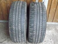 2x Michelin Primacy HP AO 225/55R16 95Y DOT 3911 Sommerreifen Reifen 4,5mm
