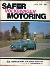 VW Safer Volkswagen Motoring 6/82 Golf C Bonito Porsche 944 Kamei XI kits +