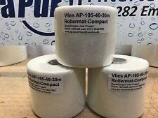 3 Rollen Vlies 10,5cm 40g/m Vliesfilter Rollermat Compact 1 Theiling Ersatzvlies