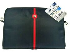 "Swiss Gear Wenger Laptop Sleeve Maya Black 16"" Inch New With Tags Shoulder Strap"