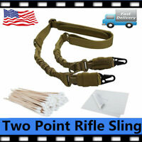 【30% OFF】Adjustable Hunting 2 Two Point Rifle Sling Tactical Strap+100x Swabs