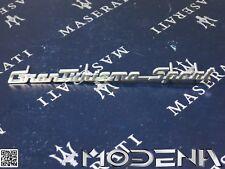 Maserati Granturismo Sport stemma scritta SCOMPARTO INTERNO AUTO DASHBOARD