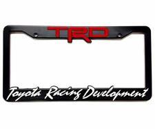 TRD License Plate Frames for Toyota Racing Development Tacoma Tundra 4Runner 86