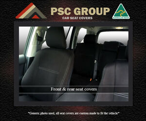 Seat Cover Mitsubishi Mirage Front(FB + MP) & Rear Waterproof Premium Neoprene